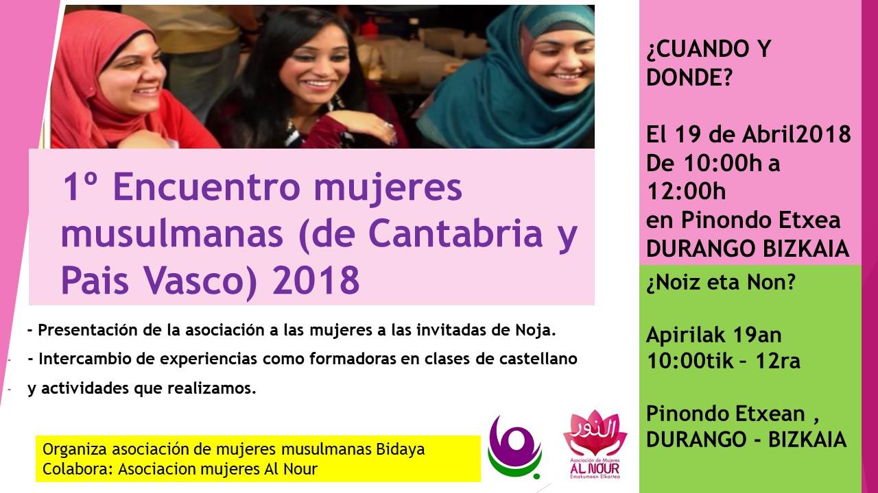 1º Encuentro mujeres musulmanas (de Cantabria y